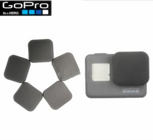 Black Plastic PC Lens Cap Cover for GoPros Heros 5 Lens Cap Protector Accessories
