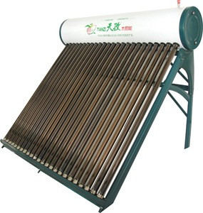 China Made Vacuum Glass Tube Solar Water Heater 200L