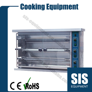 Commercial Gas Rotisserie - 3 Layers In China