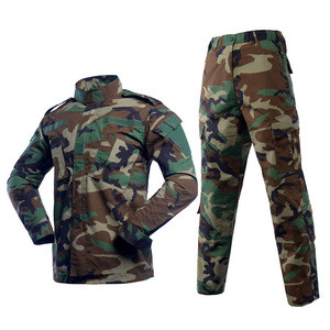 Custom Military Clothing/Woodland Camouflage Security Guard Uniforms