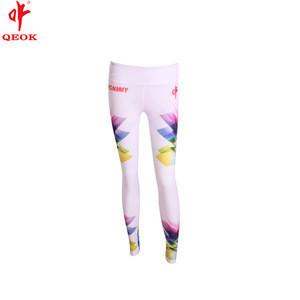 Customized digital printing coolmax sublimation baselayer bottoms. Ladies fitness high stretch legging pants,cheerleader uniform