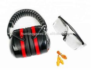 Ear muff with ansi snr nrr standard hunting earmuff