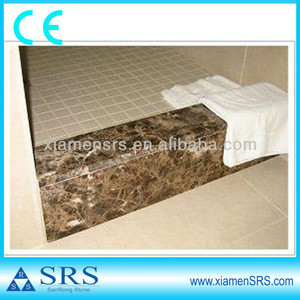 Emperador light brown marble door sills