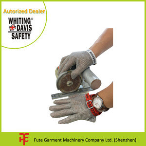 Five Fingers France Honeywell Whiting Davis Stainless Steel Mesh Safety Gloves
