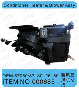 For for hiace body kits air condition for hiace condition heater and blower assy #000685 for for hiace 2005-2009 Commuter van