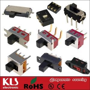 Good quality 09 KLS brand defond slide switch