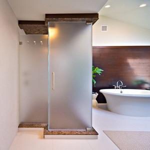 Shower Enclosure Frosted Gl