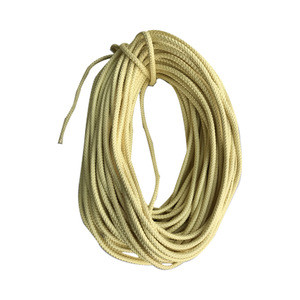 High strength abrasion resistant 10mm static aramid climbing  rope