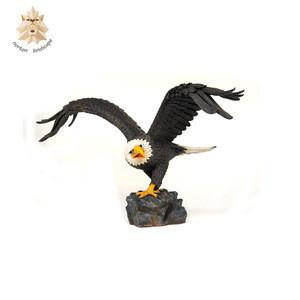 hot sale fiberglass life size eagle statues NTBA-208L