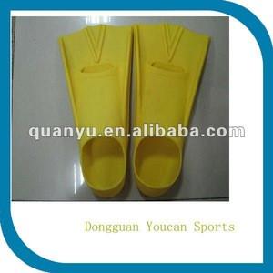 Hot sale super Professional silicone training swimming fins