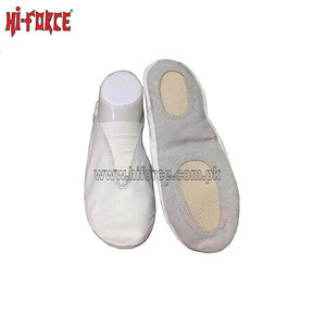 Kids Girls Gymnastics Ballet Dance Shoes Leather Slippers Pointe Dancing Shoe