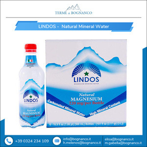 Lindos - 100% Natural Spring 220mg Magnesium Mineral Pure Drinking Water