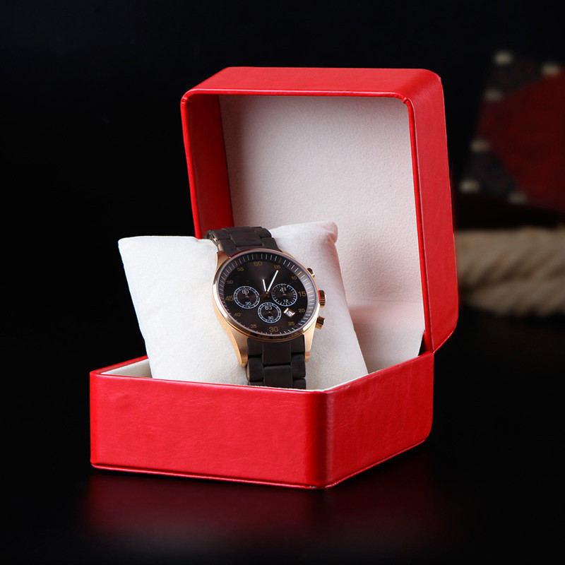 Luxury cardboard watch box packaging China supplier