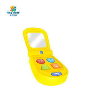 New baby toys puzzle early education baby mobile phone with light music