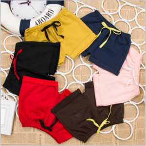 New Style ctotton Kids shorts children Candy Color Solid kids boys girls Shorts