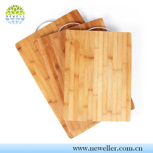 Newell wholesale eco-friendly bamboo cutting board