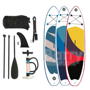 OEM customizable sup waves surfing inflatable paddle board