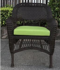 Outdoor terrace furniture wholesale garden chair dining tool armrest PE rattan woven rattan chair
