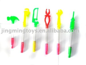 Plastic tool candy container/small candy toys
