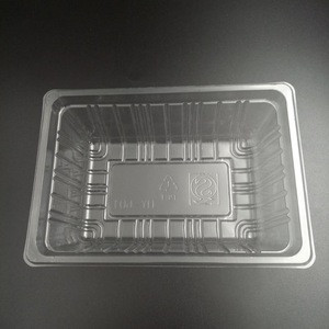 PP/PET/PS/PVC fruit packaging cheap plastic tray.