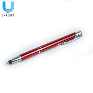 Promotional Red Aluminium Stylus Pen for Advertising