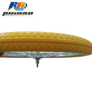 PU Foam Filled Aluminum Rim Wheel 20x2.125 For Bicycle