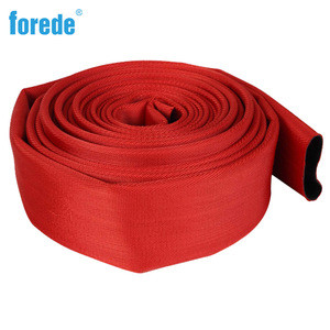 PVC Single Jacket Fire Hose For Fire Fighting