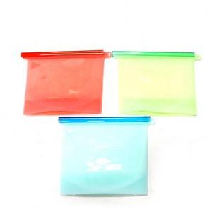 Reusable Silicone Food Storage Bag Bags