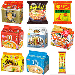 Seafood sauce Japanese instant noodle made in Japan