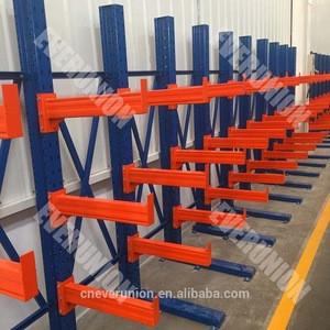 Storage Car or Steel Pipe Cantilever Parts Storage Rack