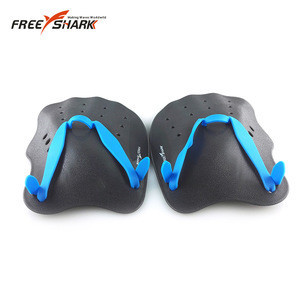 Swimming Fins Adjustable Swimming Hand Paddles Fins Flippers Training Pool Diving Gloves