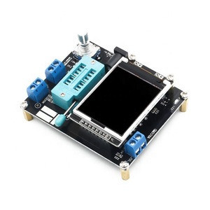 Transistor LCD Tester Diode Capacitance ESR Voltage Frequency Meter PWM Square Wave Signal Generator GM328A