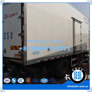 Used Chinese truck, used refrigerated truck