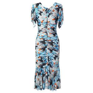 V Collar bodycon  dresses women lady elegant women clothing  apparel  party dress T2865-1/82