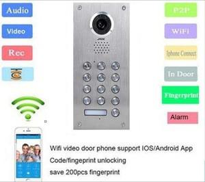 Wireless video door phone sip door phone audio intercom door phone