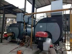 WNS series liquid petroleum gas or oil fuel hot water boiler