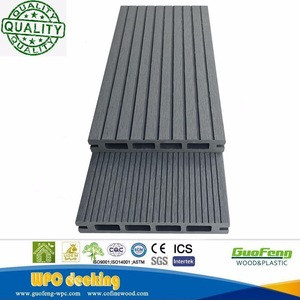 Wpc stair steps plastic wood composite stair tread decking