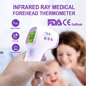 no touch infrared digital forehead thermomete