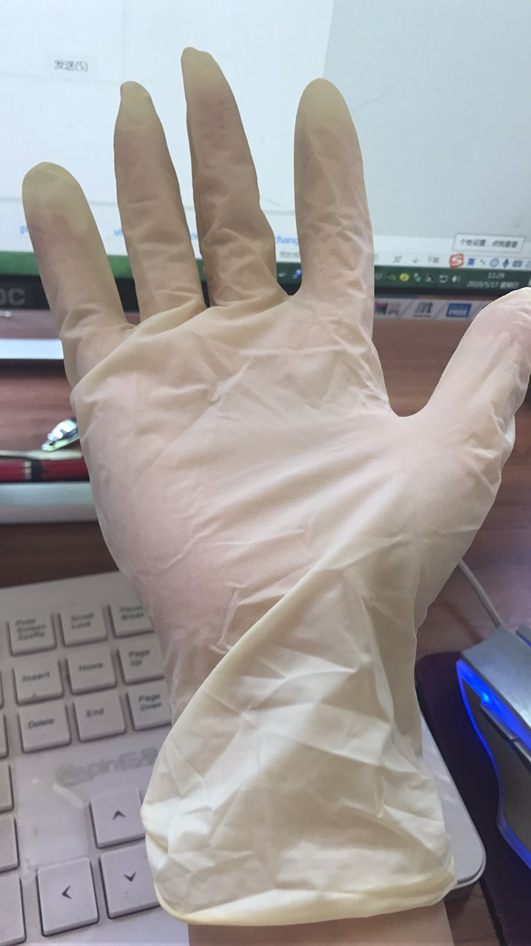 Safety gloves, Latex gloves