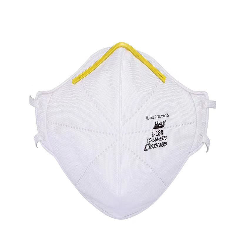 Harley N95 Disposable Folded Mask N95 Particulate Filter