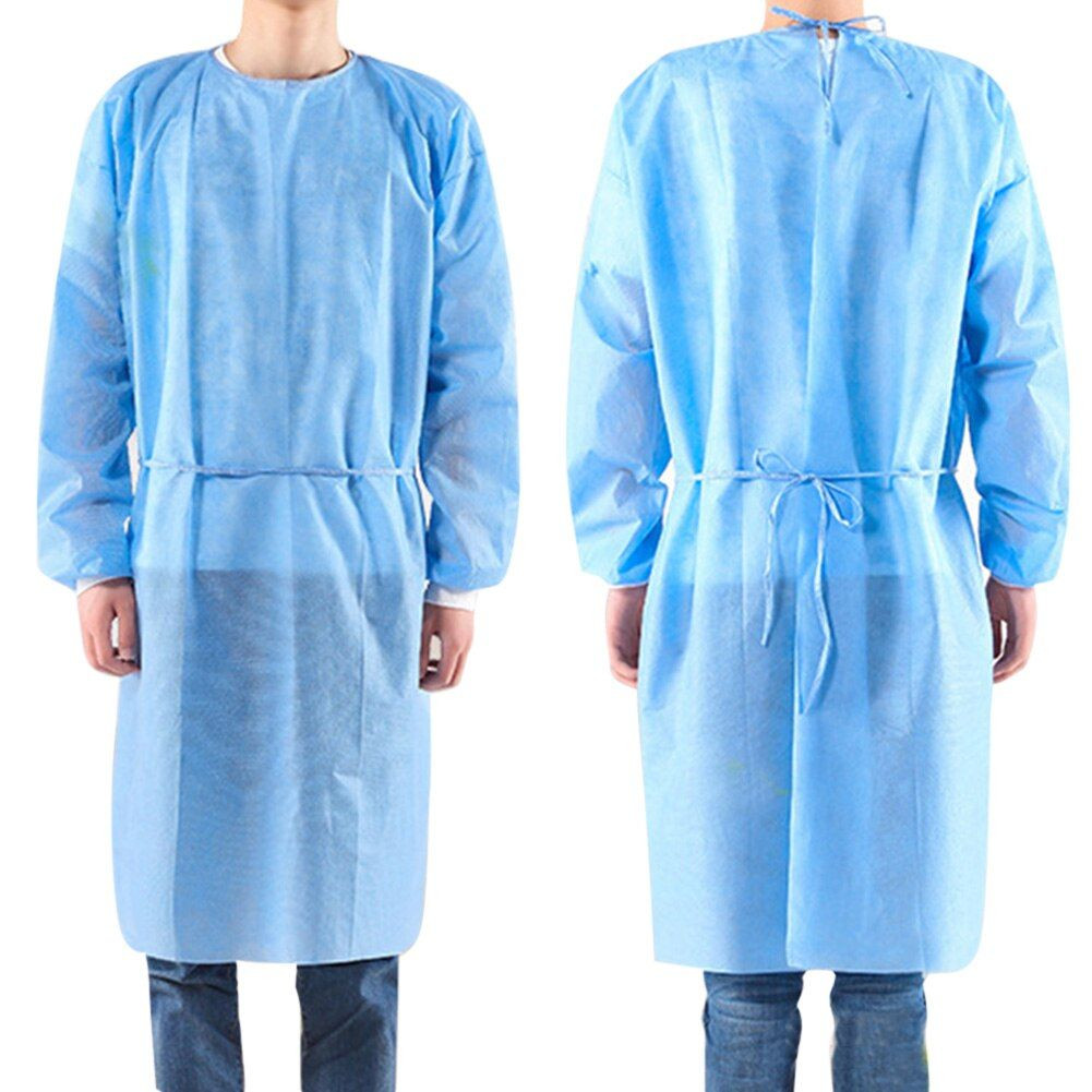 Disposable Bandage Coveralls Surgical Gown Dust-proof
