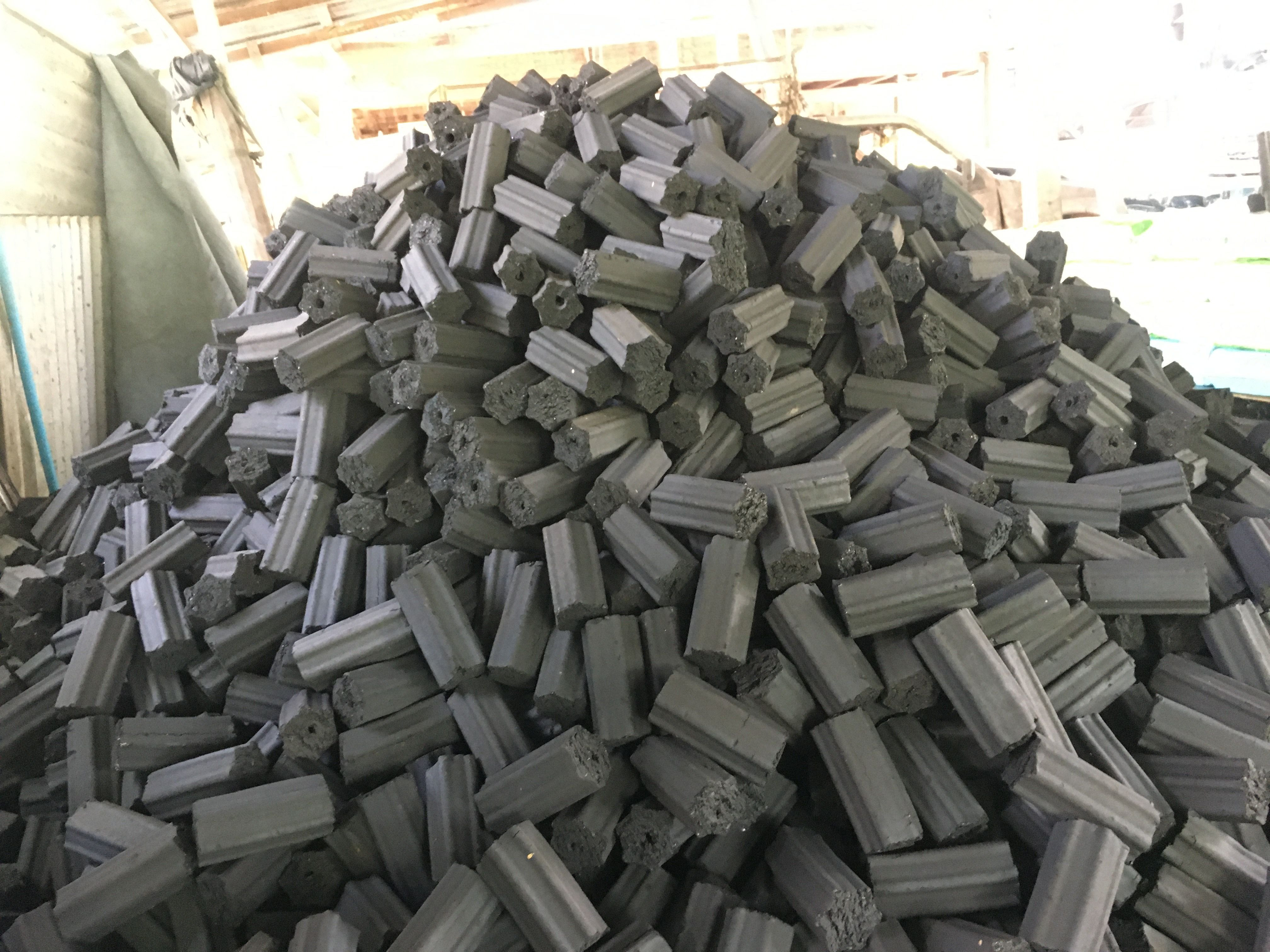 Coconut shell's charcoal