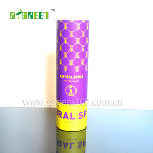 100%Recycled Material Custom Candle Paper Tube Packaging