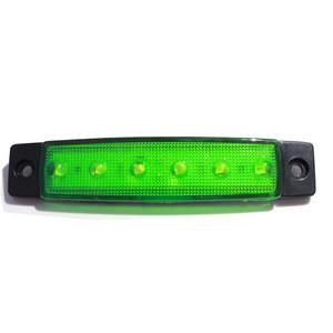12v LED Auto side Lampade Truck Side Marker Indicator Lights Turn Signal Brake Tail Light Universal For Buses