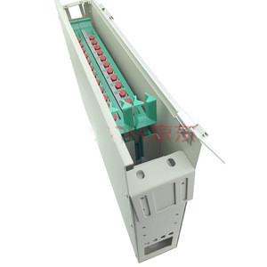 19 1U Rack Mount Fiber Optic 24 Port Patch Panel