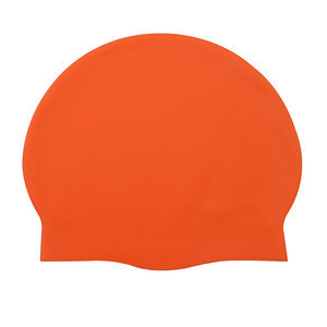 2018 Silicone Blue Plain Solid Color Swim Cap Hot Sale High Quality CE Certificate Swim Cap on Storage in Guangdong