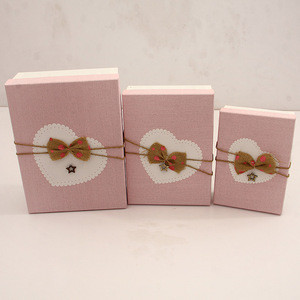 3 sizes Luxury beauty high quality small big box packaging paper box