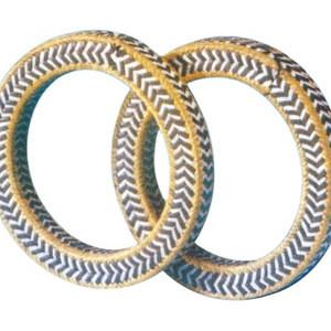 Aramid Fiber Graphite PTFE Fiber Braided and Molded Packing Ring