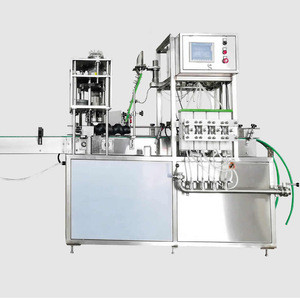 Automatic Craft Beer Aluminum Can Filling  Machine / Beer Canning Equipment Line