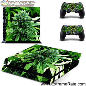 Big leaves designer skin sticker and decorative decal for PS4 game accessories